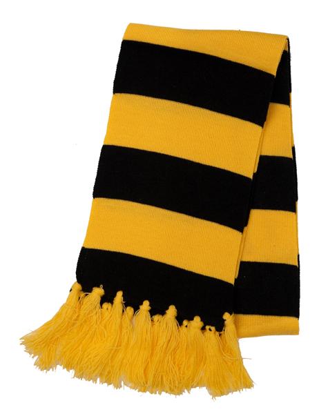 Alla resenärer som åker med bussarna får en halsduk!